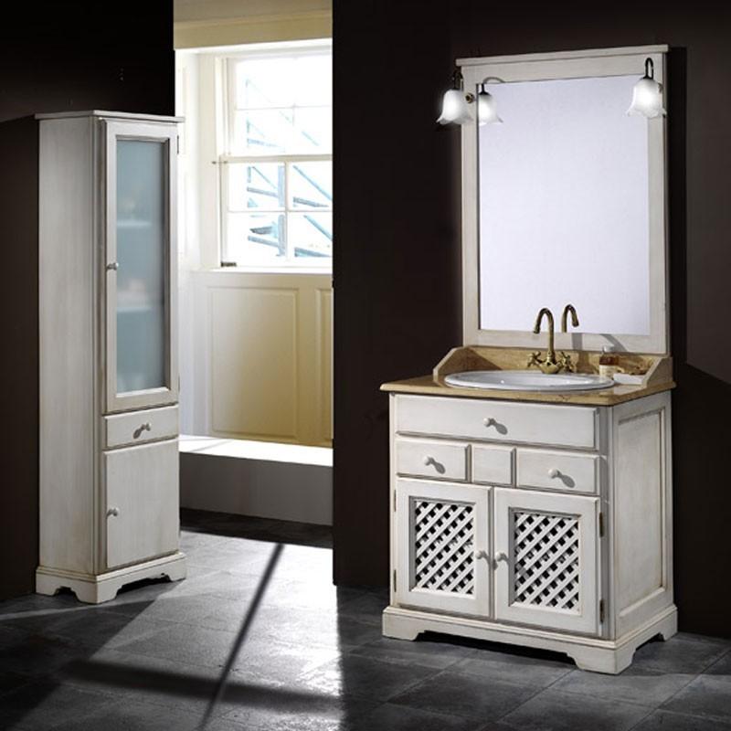 badm bel ronda rustikal aus kiefernholz 80 cm. Black Bedroom Furniture Sets. Home Design Ideas