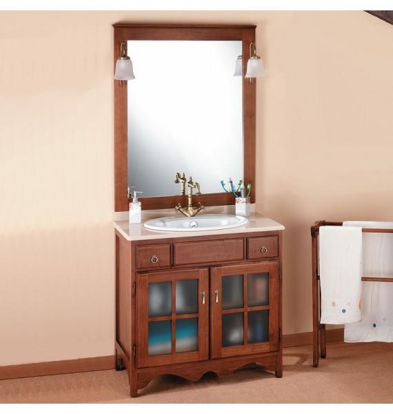 badm bel rustikal cruz 100 cm. Black Bedroom Furniture Sets. Home Design Ideas
